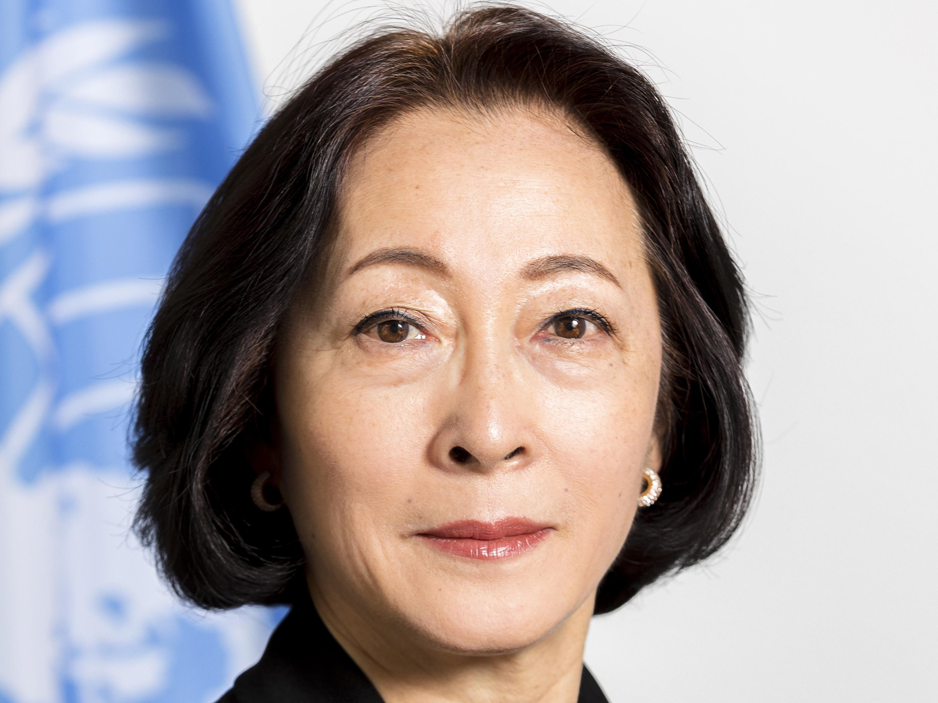 Mami Mizutori, UN Secretary-General's Special Representative for Disaster Risk Reductiion