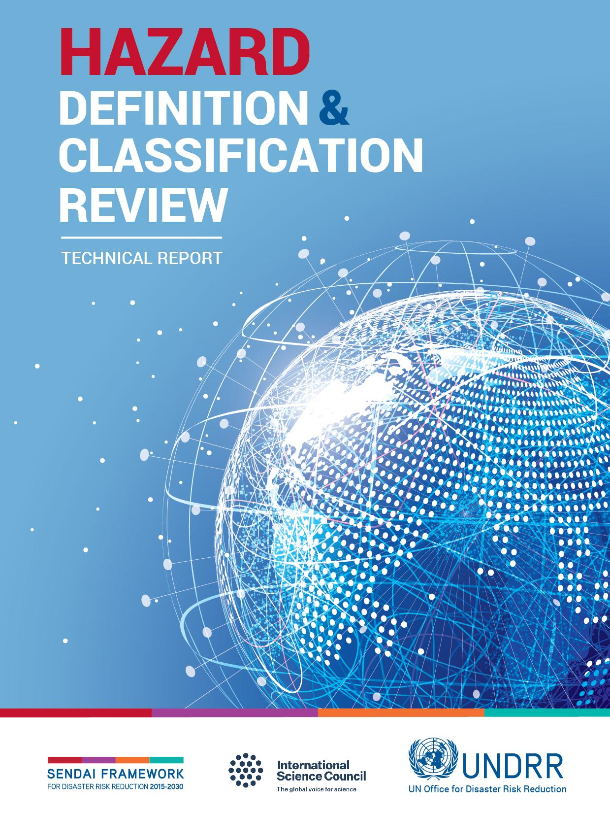 Cover of the Hazard Definition and Classification Review technical report