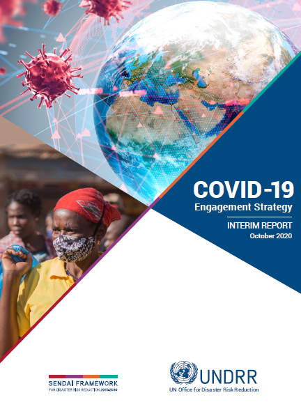 Cover image for UNDRR COVID-19 engagement strategy interim report